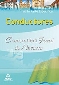 Conductores, comunidad foral de navarra. temario y test de l