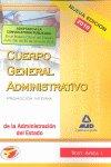Cuerpo administrativo, promocion interna, administracion del