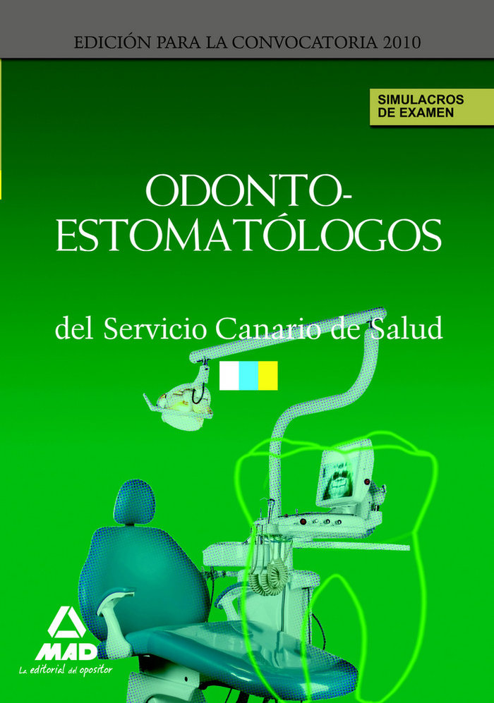 Odontoestomatologos del servicio canario de salud. simulacro
