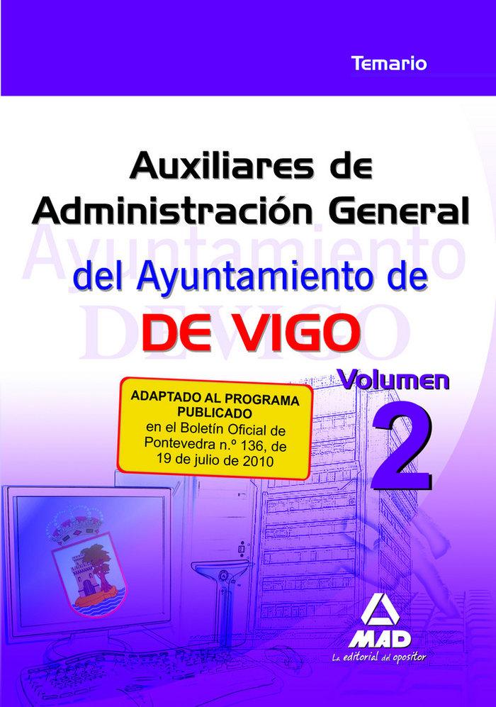 Auxiliares de administracion general del ayuntamiento de vig