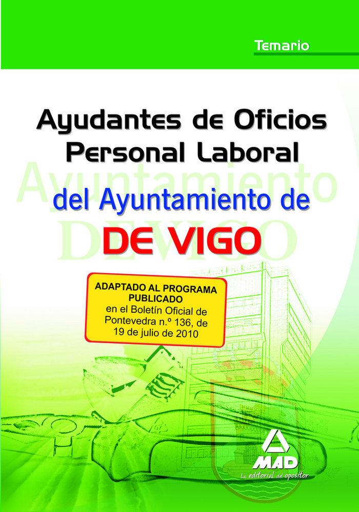 Ayudante de oficio, personal laboral, ayuntamiento de vigo.