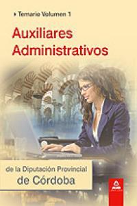 Auxiliares administrativos de la diputacion cordoba i