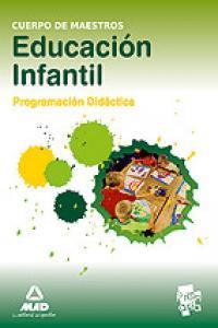 Cuerpo maestros educacion infantil programacion didactica