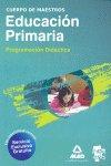 Cuerpo maestro e.primaria 2010 programacion didacatica