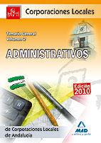 Administrativos de corporaciones locales de andalucia. temar
