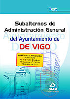 Subalterno de de administracion general del ayuntamiento de