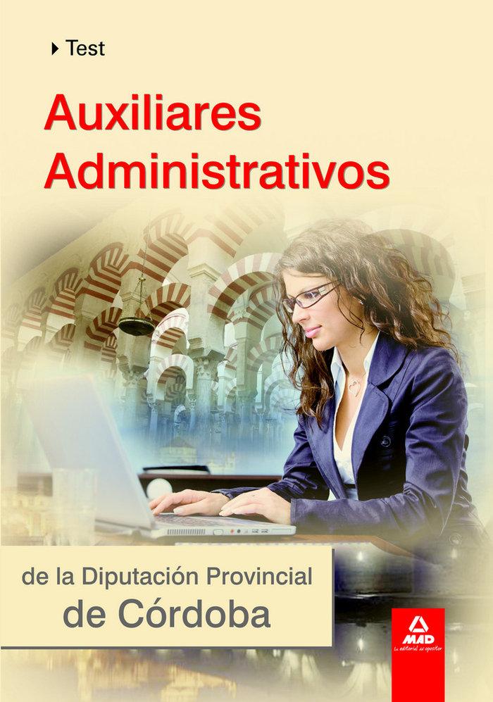 Auxiliares administrativos de la diputacion cordoba test