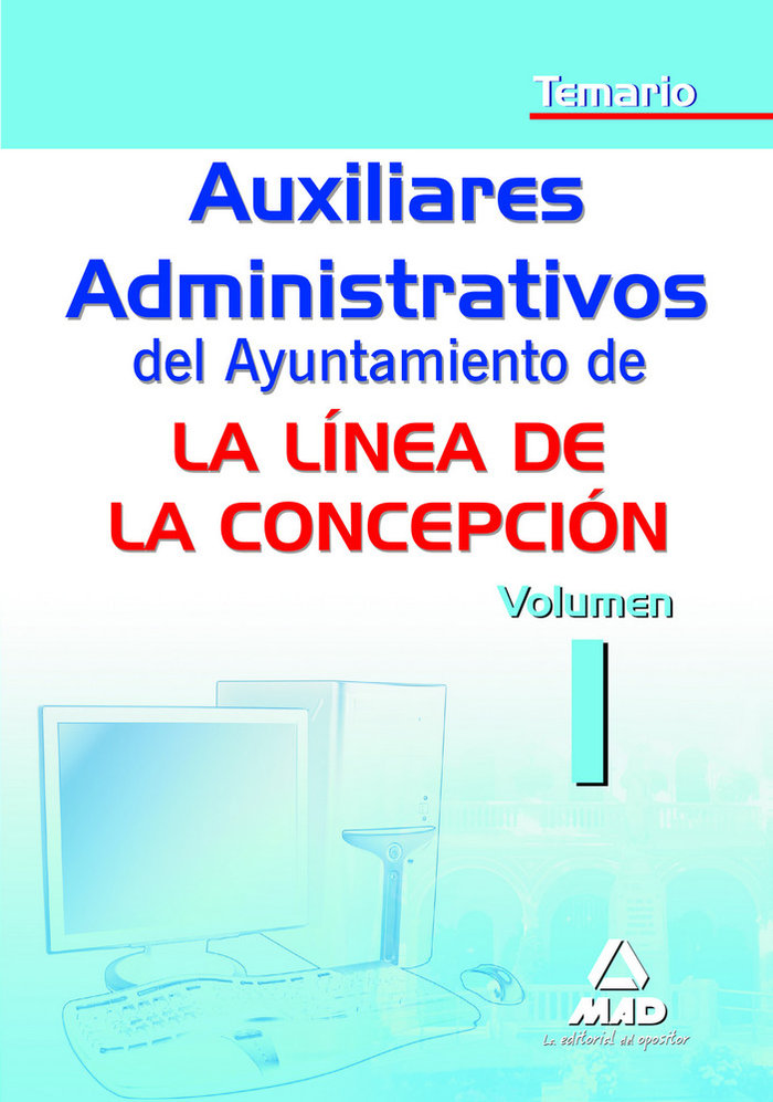 Auxiliar administ ayuntamiento linea de la concepcion i