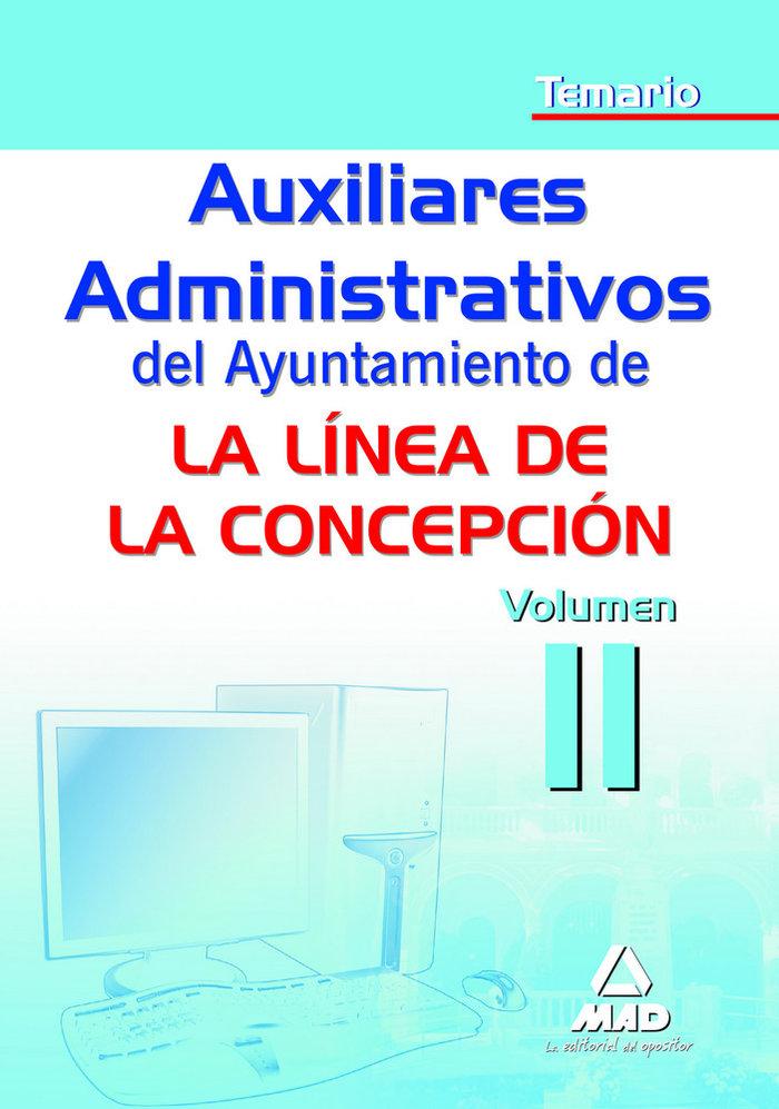 Auxiliar administ ayuntamiento linea de la concepcion ii