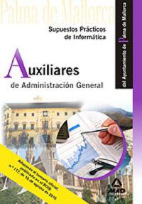 Auxiliares de administracion general, ayuntamiento de palma