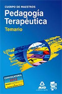 Cuerpo de maestros pedagogia terapeutica temario