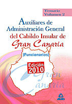 Auxiliares de administracion general del cabildo insular de