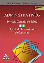 Administrativos del servicio canario de salud/hospital unive