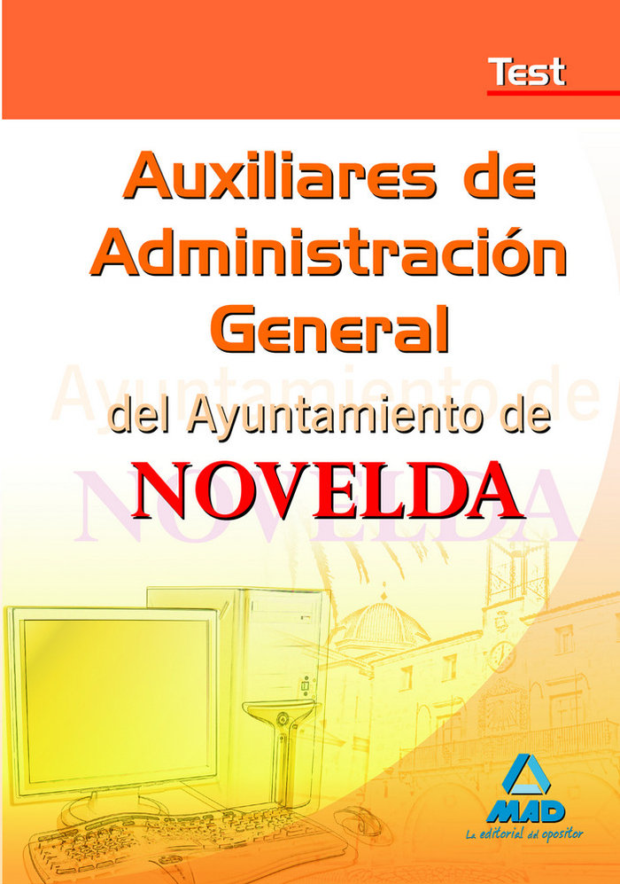 Auxiliares de administracion general, ayuntamiento de noveld
