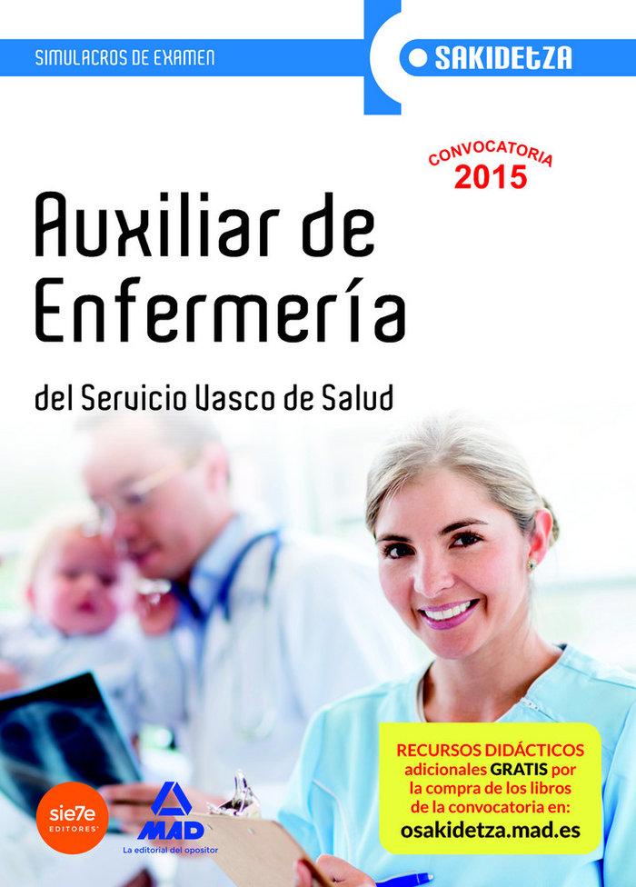 Auxiliar de enfermeria de osakidetza-servicio vasco de salud