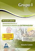Personal laboral grupo i 2010 extre.temario comun