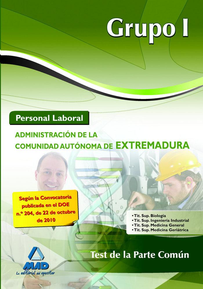 Personal laboral grupo i 2010 extre.test de la parte comun