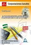 Administrativos corporaciones locales de andalucia test gene