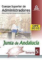 Cuerpo superior de administradores [especialidad administrad