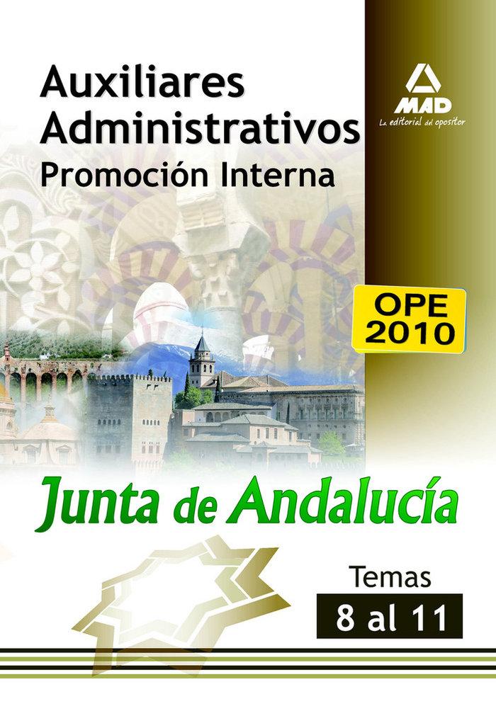 Auxiliar adm junta de andalucia promocion interna temas 8-11