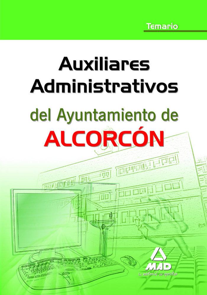 Auxiliares administrativos, ayuntamiento de alcorcon. temari