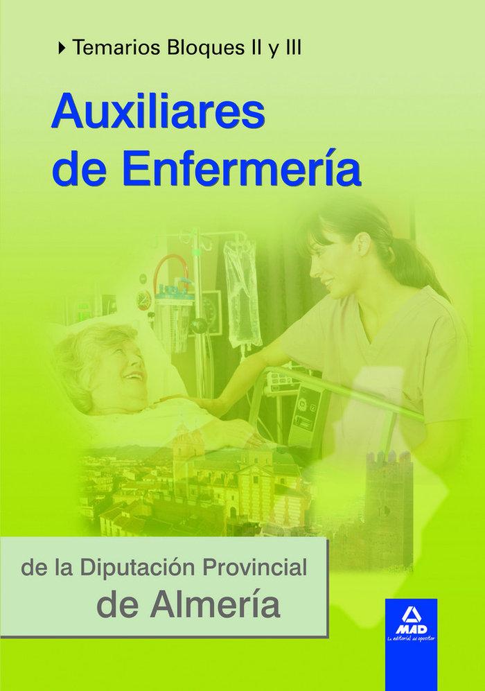 Auxiliar enfermeria diputacion almeria bloque ii iii