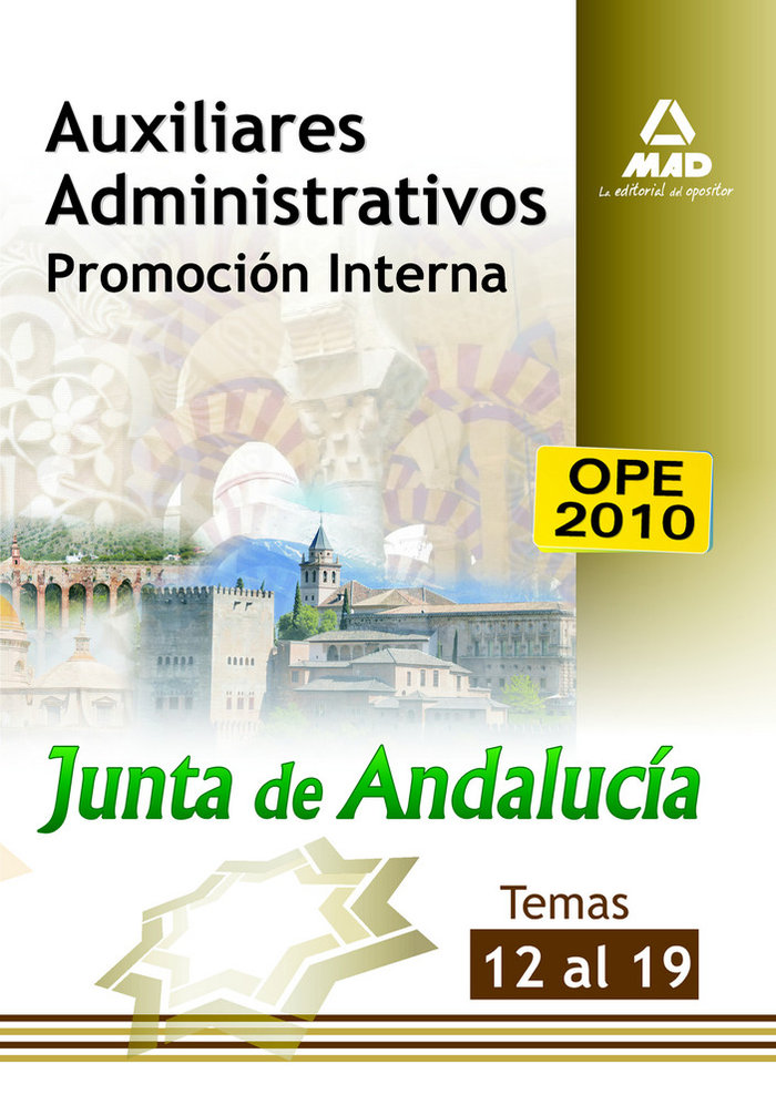 Aux adm junta de andalucia promocion interna temas 12-19