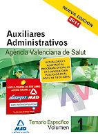 Auxiliares administrativos de la agencia valenciana de salud