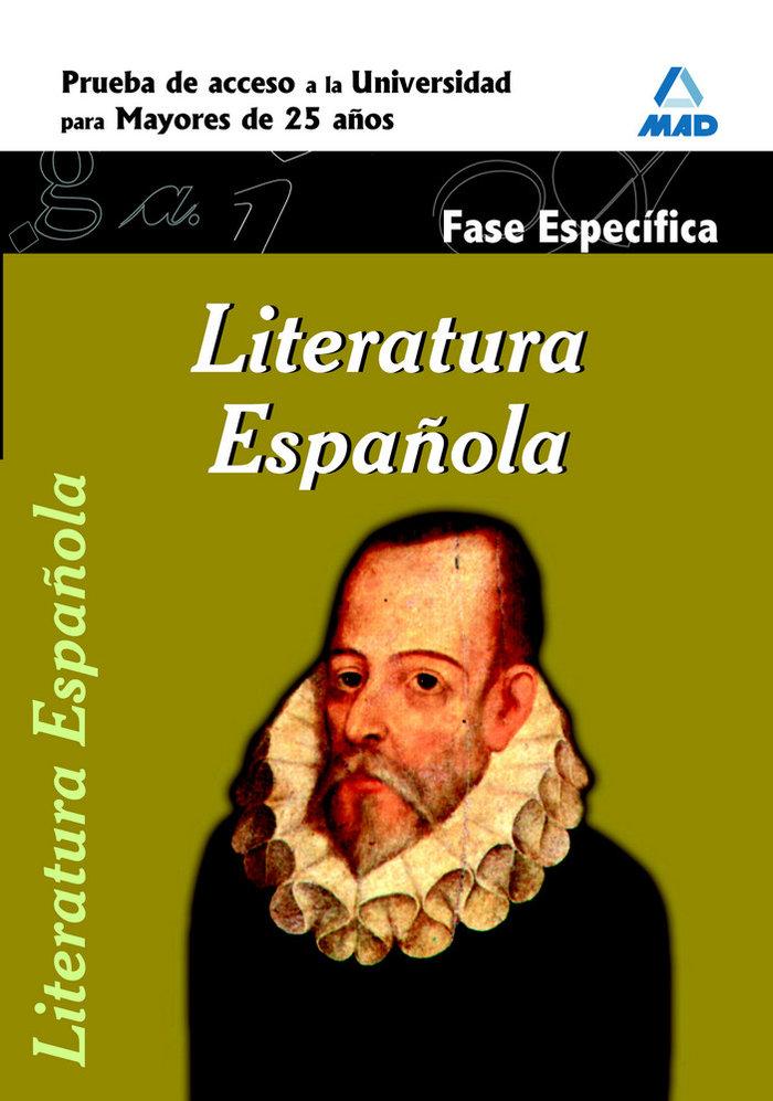 Literatura española f.especifica pru.acceso univ.mayores 25