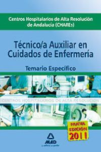 Cuidados aux. enfermeria chares andalucia especifico