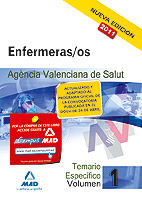 Enfermeras/os (ats/due) de la agencia valenciana de salud. t