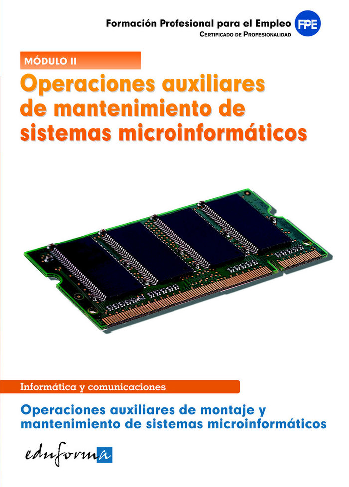 Operaciones aux. mantenimiento sistemas microinformaticos cp