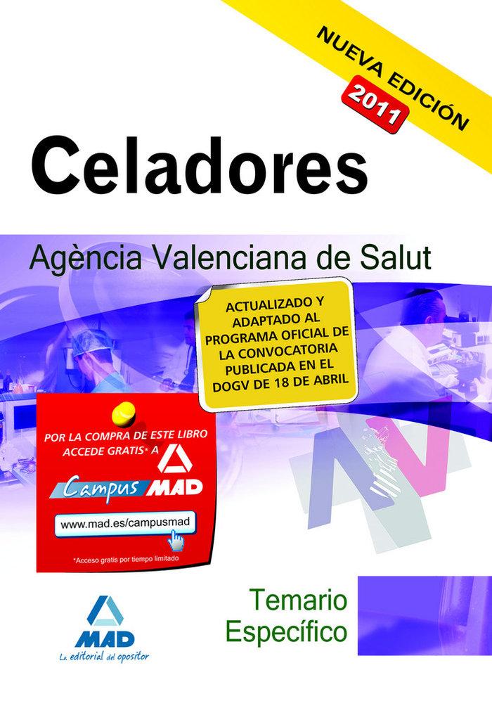 Celadores, agencia valenciana de salud. temario de la parte