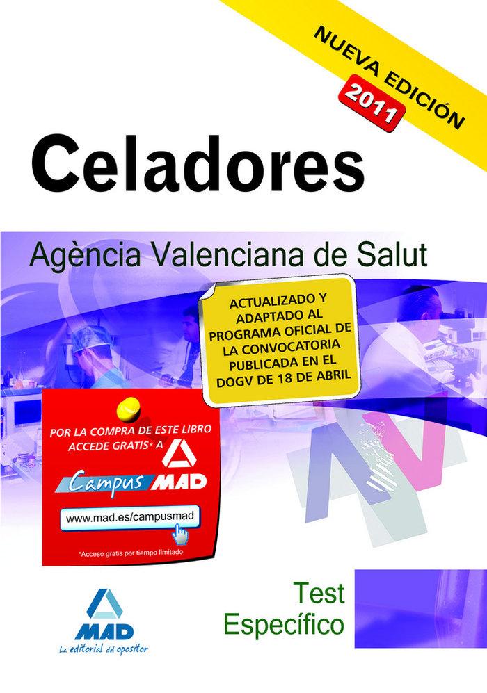 Celadores, agencia valenciana de salud. test de la parte esp