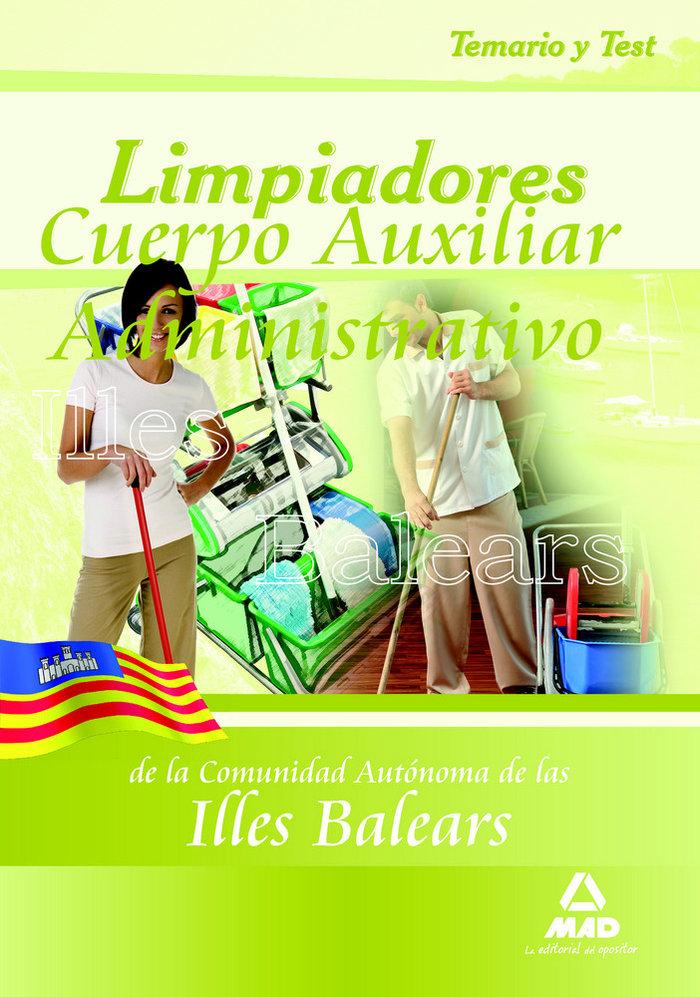 Limpiadores, comunidad autonoma de las islas baleares. temar