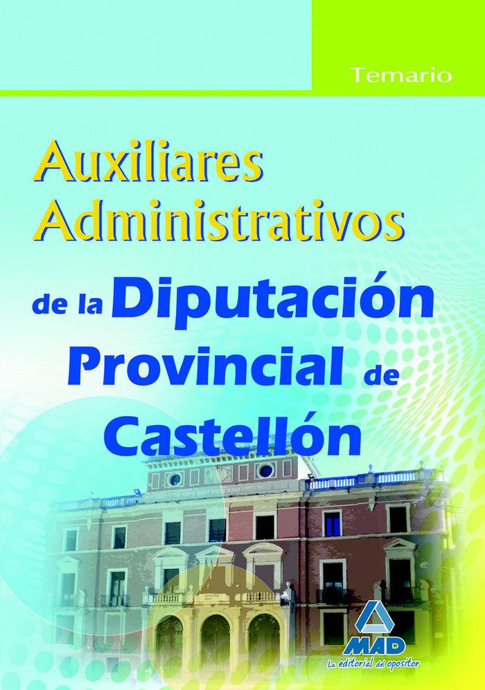 Auxiliares administrativos, diputacion provincial de castell