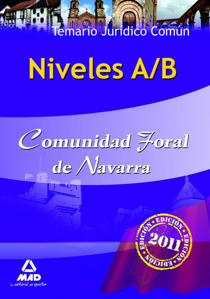 Niveles a/b, comunidad foral de navarra. temario juridico co