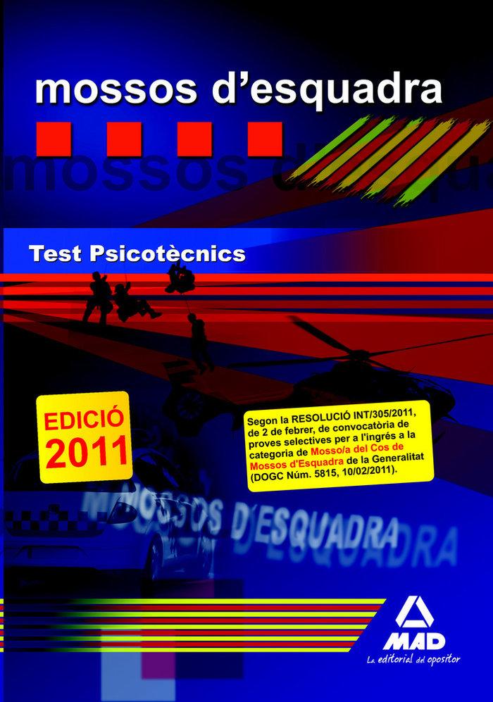 Mossos d'esquadra. test psicotecnics