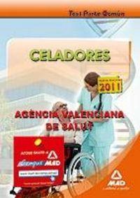 Celadores, agencia valenciana de salud. test de la parte com