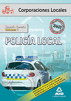 Policia local. temario general volumen i