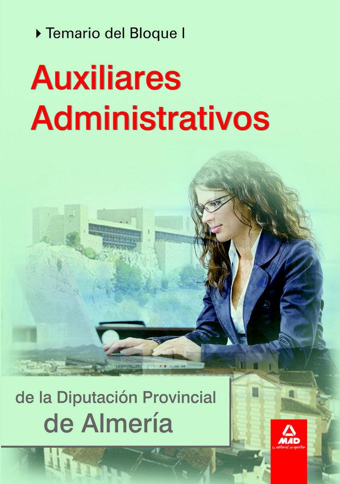 Auxiliares administrativos de la diputacion almeria i