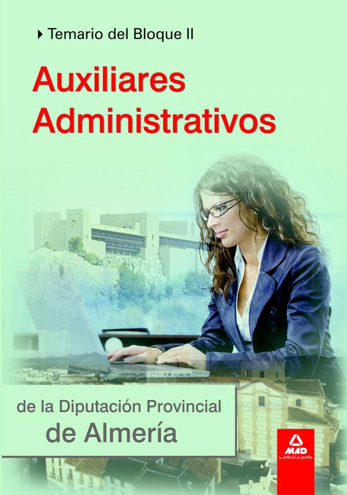 Auxiliares administrativos de la diputacion almeria ii