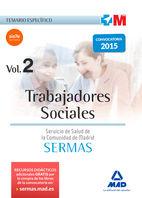 Trabajadores sociales del servicio madrileño de salud. temar
