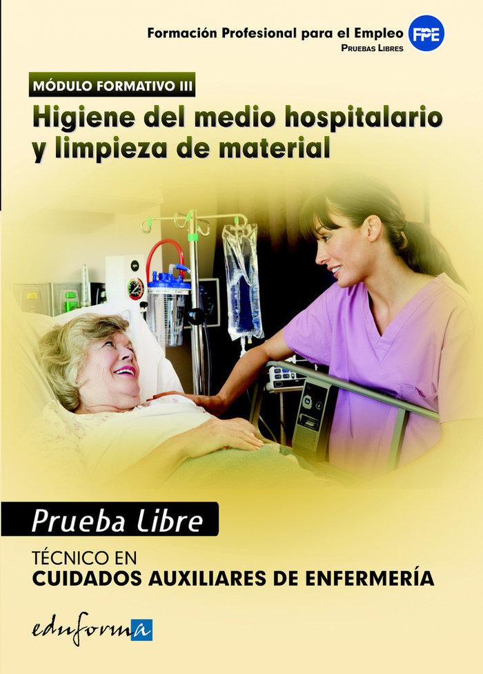 Higiene del medio hospitalario limpieza de material ciclo gm