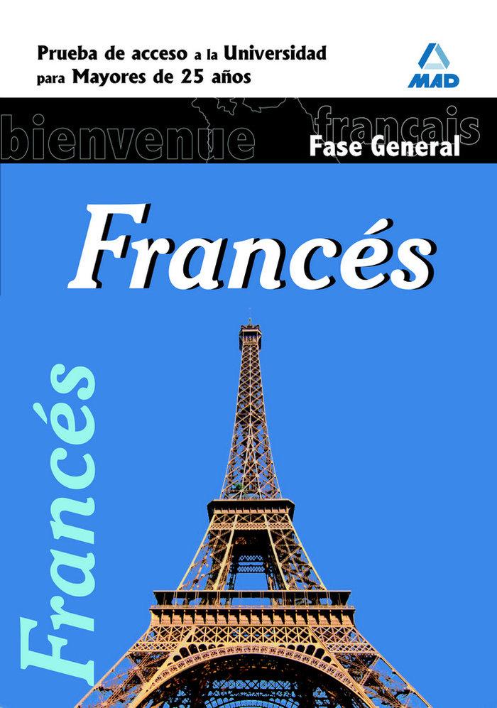 Frances prueba acceso universidad 25 años
