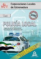 Test policia local extremadura 2011