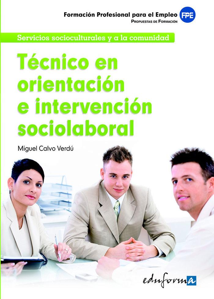Tecnico en orientacion e intervencion sociolaboral