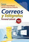 Correos telegrafos p.laboral temario vol.2 2012