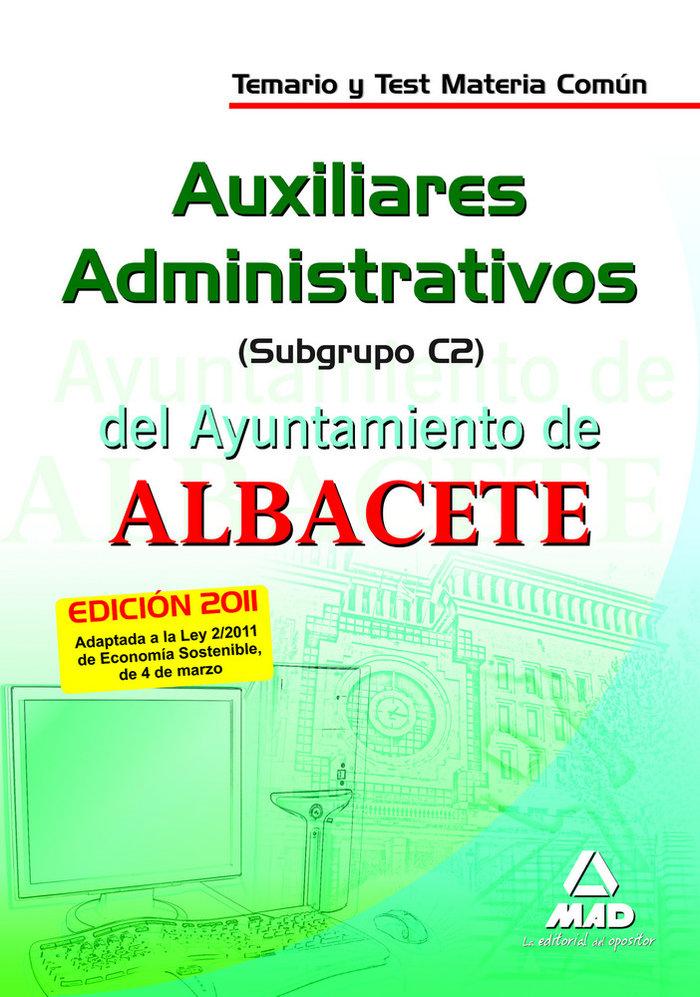 Auxiliares administrativos, subgrupo c2, ayuntamiento de alb
