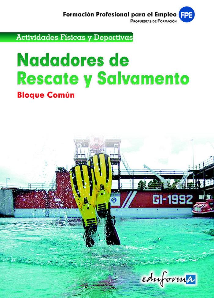 Nadadores de rescate y salvamento comun
